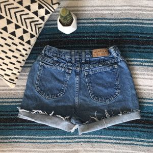 Vintage High Rise Riders Cut Off Shorts